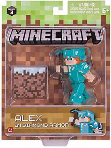 MINECRAFT ALEX IN GOLDEN ARMOR