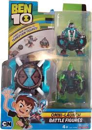 BEN 10 OMNI-LAUNCH BATTLE FIGURES FOUR ARMS