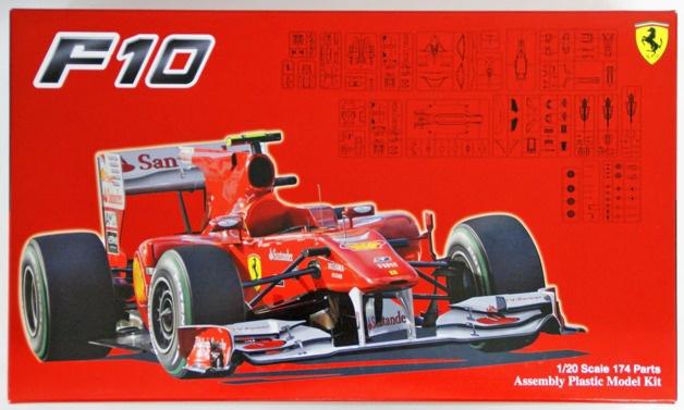 Fujimi #092041 1/20 Ferrari F10