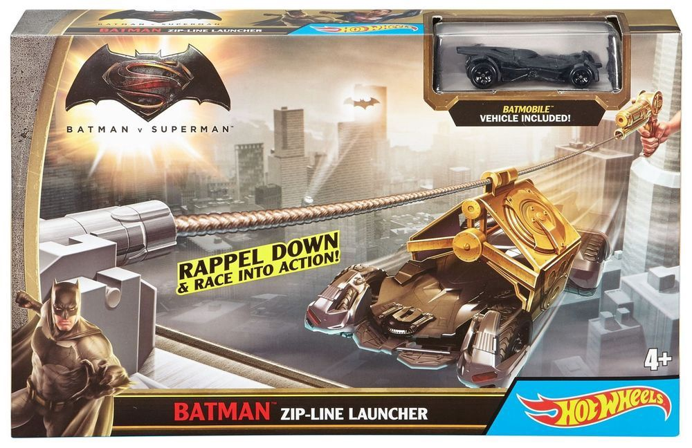 HOT WHEELS BATMAN ZIP-LINE LAUNCHER