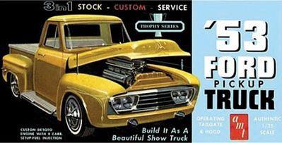 Moebius Models #1235 1/25 1965 Ford F-100 Service Truck