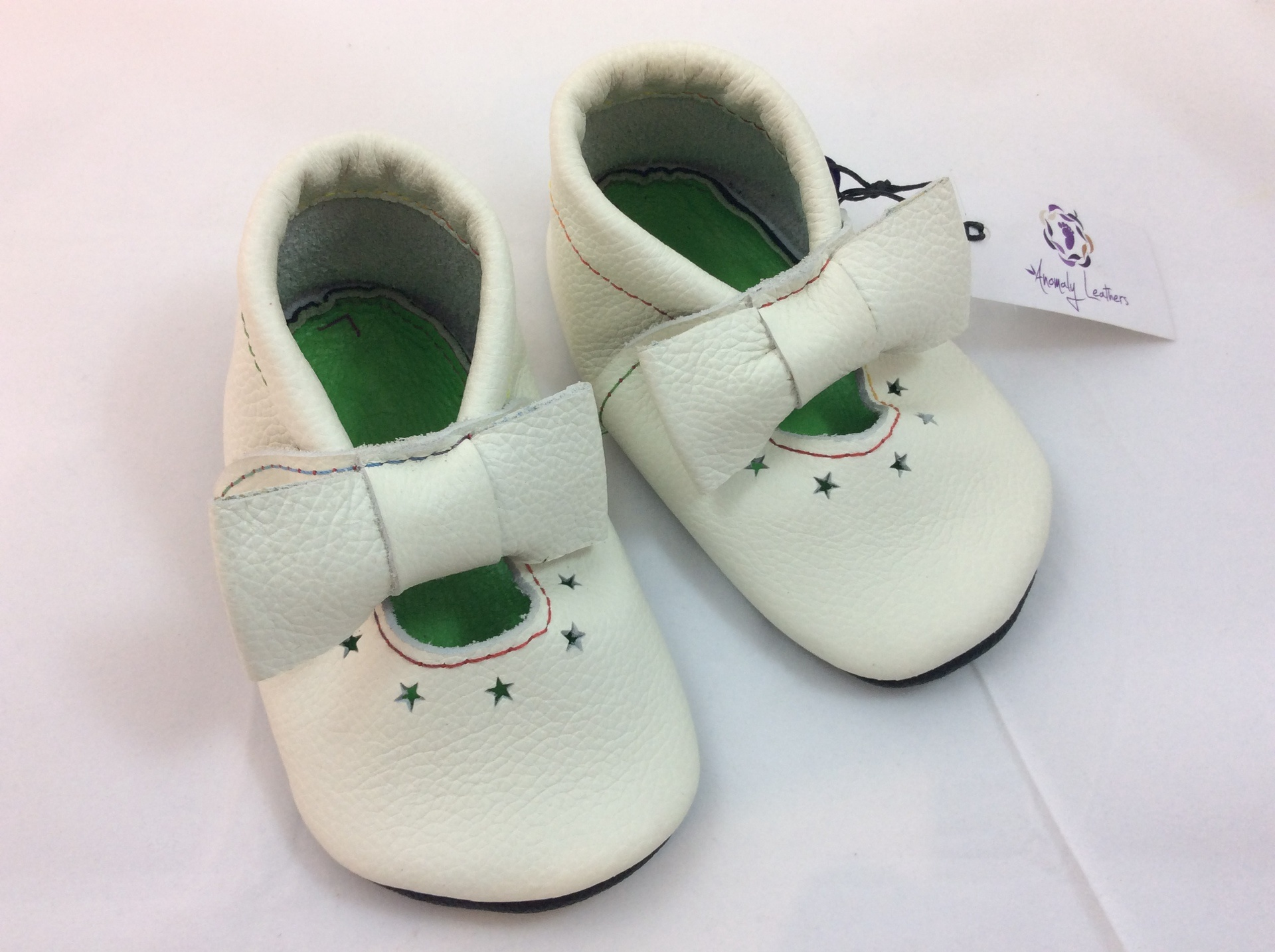 Leather Baby Shoes - fit approx 15-21 months