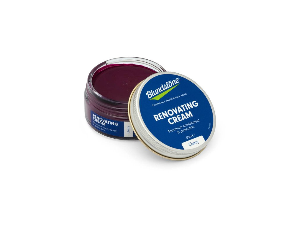 BLUNDSTONE - RENOVATING CREAM IN CHERRY
