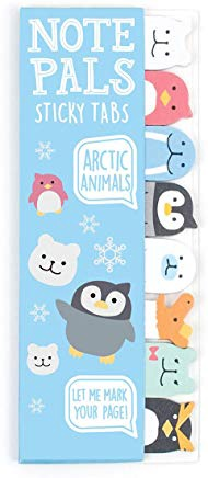 NOTE PALS STICKY NOTE TABS ARCTIC ANIMALS