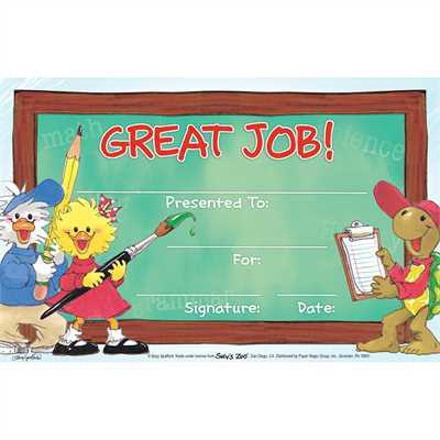 X EU 844163 GREAT JOB AWARD