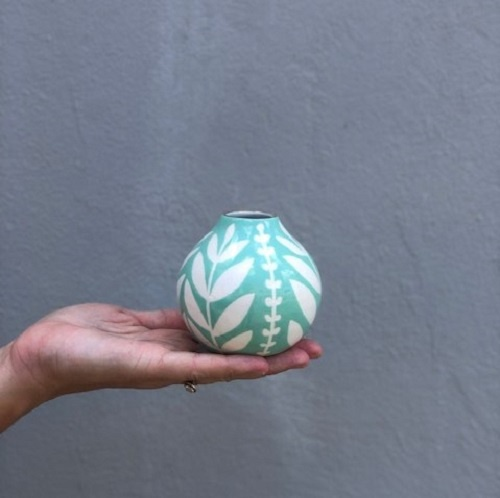 Sprout Bud Vase | Aqua