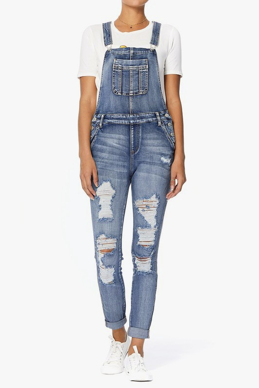 Judy Blue Distressed Overalls