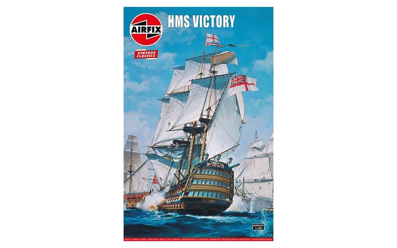 Airfix #A09252V 1/180 HMS Victory-Vintage Classics