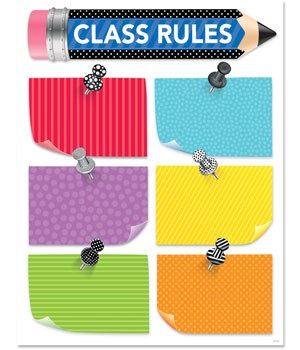 CTP 2848 BOLD & BRIGHT CLASS RULES CHART