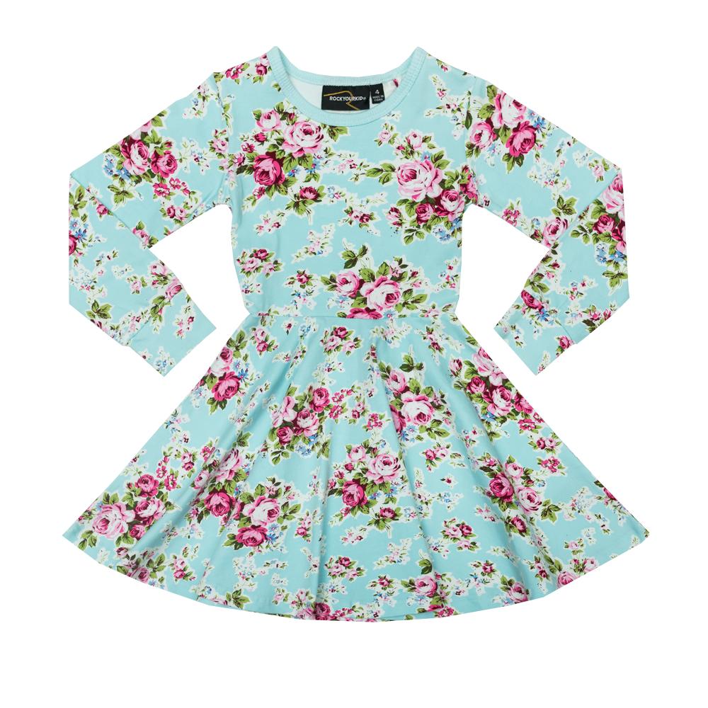 Blue Maeve Waisted Dress