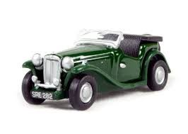 Oxford #76MGTC001 1/76 MG TC Racing Green