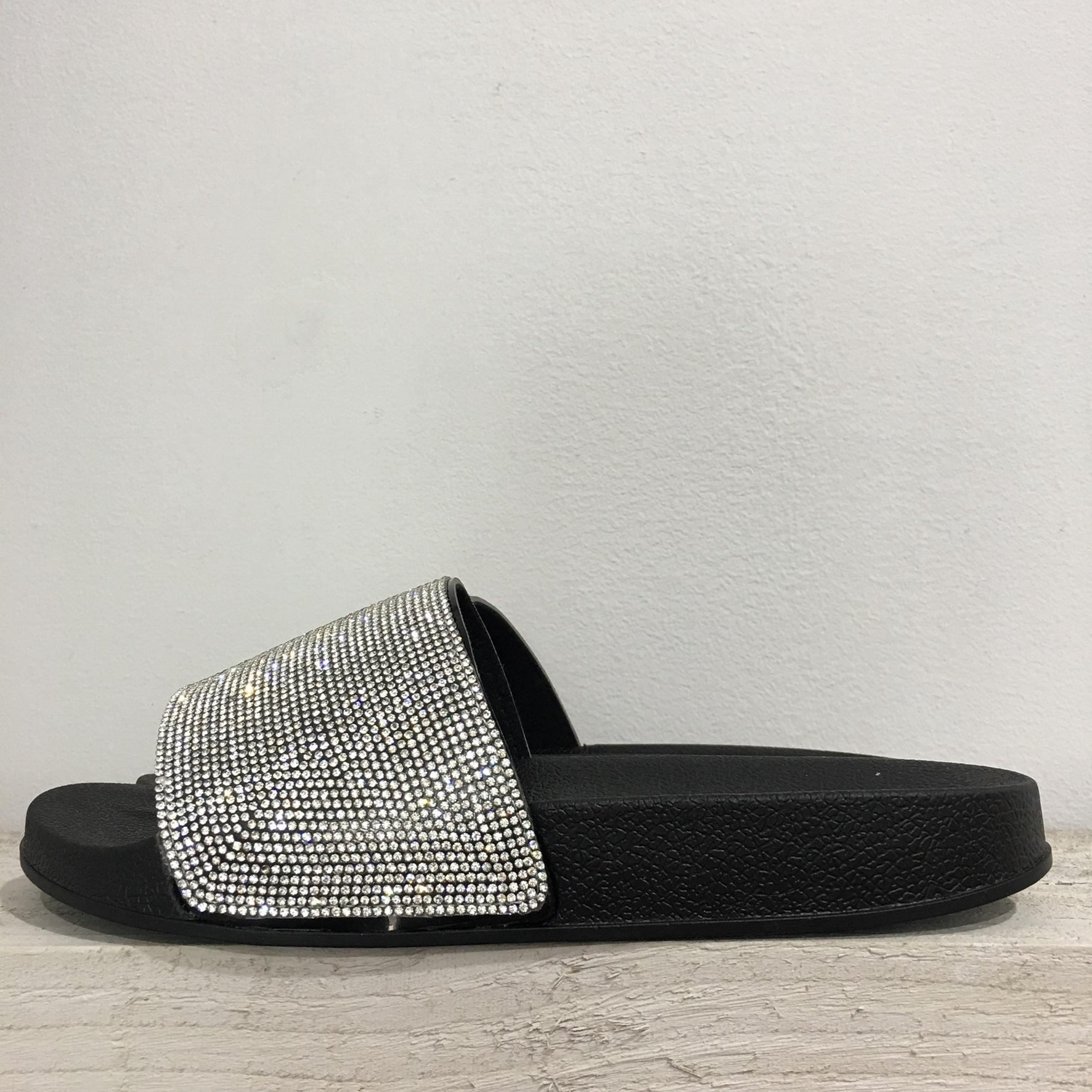 Diamante Sparkle Sliders