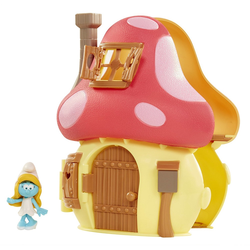 SMURFETTE'S MUSHROOM HOUSE