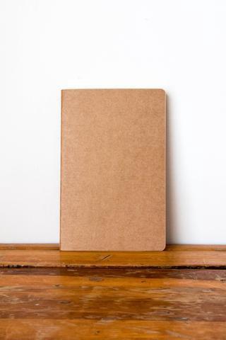 Frank A5 Soft Cover Notebook - Kraft