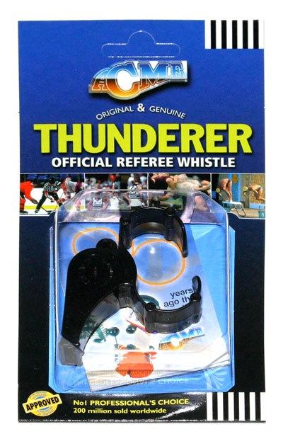 ACME Thunderer Fingergrip Whistle - Plastic