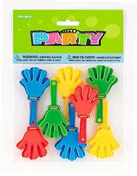 HAND CLAPPERS 8 MINIS