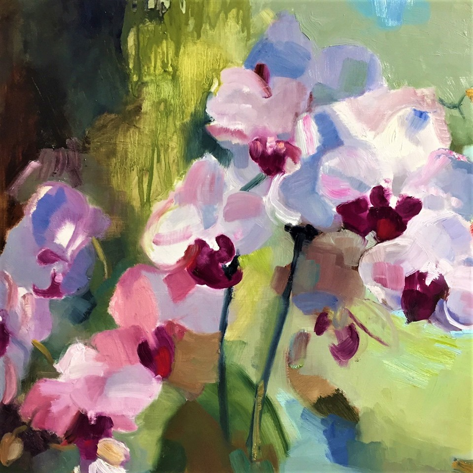 Flower painting with Cristina Metelli - full day workshop 4 December 10am -4pm