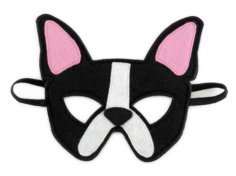 Chloe the French Bulldog Mask
