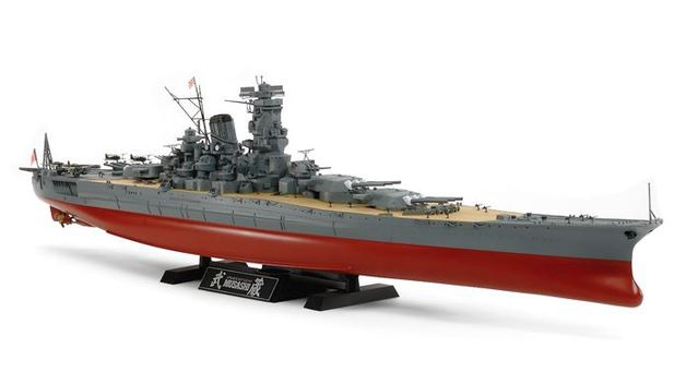 Tamiya #78031 1/350 Japanese Battle ship Musashi – Model Kit
