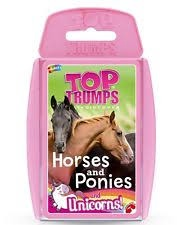 TOP TRUMPS HORSES AND PONIES AND UNICORNS