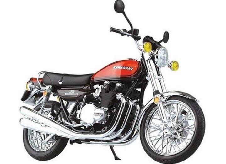 Aoshima #10462 1/12 Kawasaki 750RS  Fire Ball