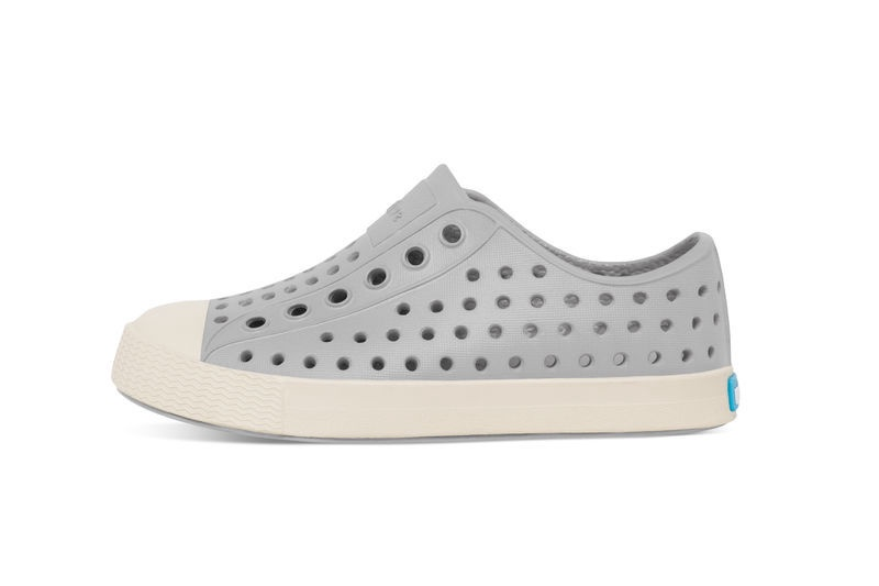 Native Jefferson Shoe Junior, Pigeon Grey/Shell White