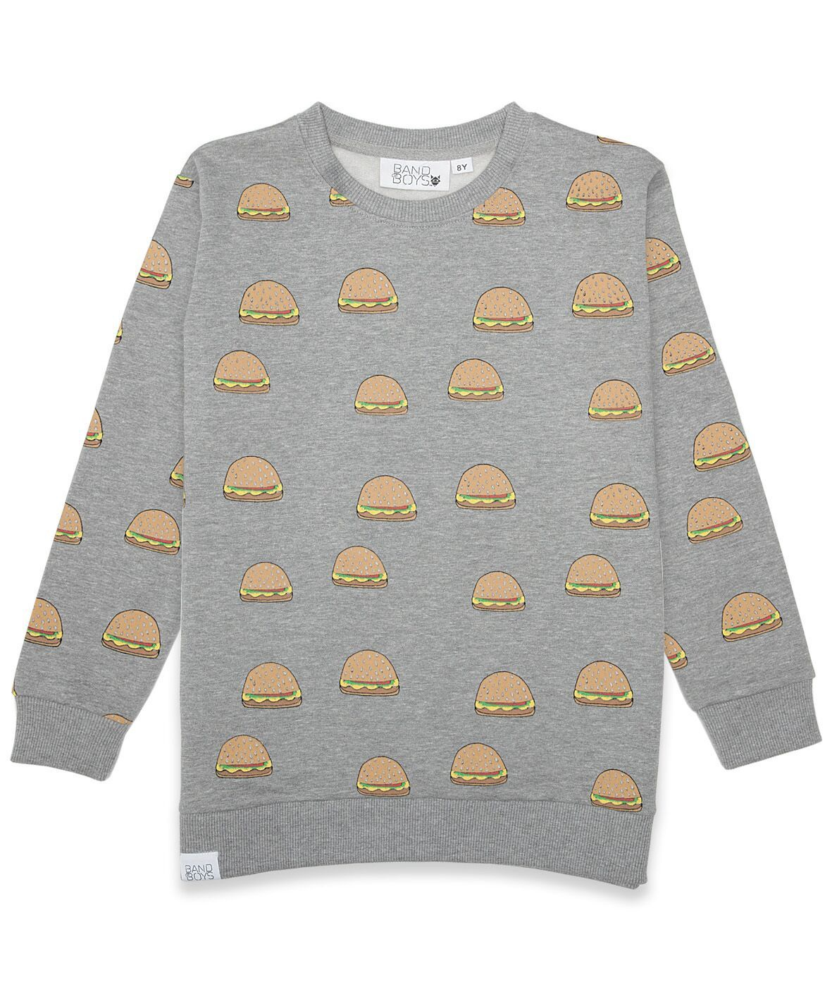 BOB Jumper Burger Marle Grey