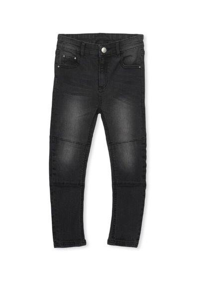 Milky Black Denim Jean Washed Black