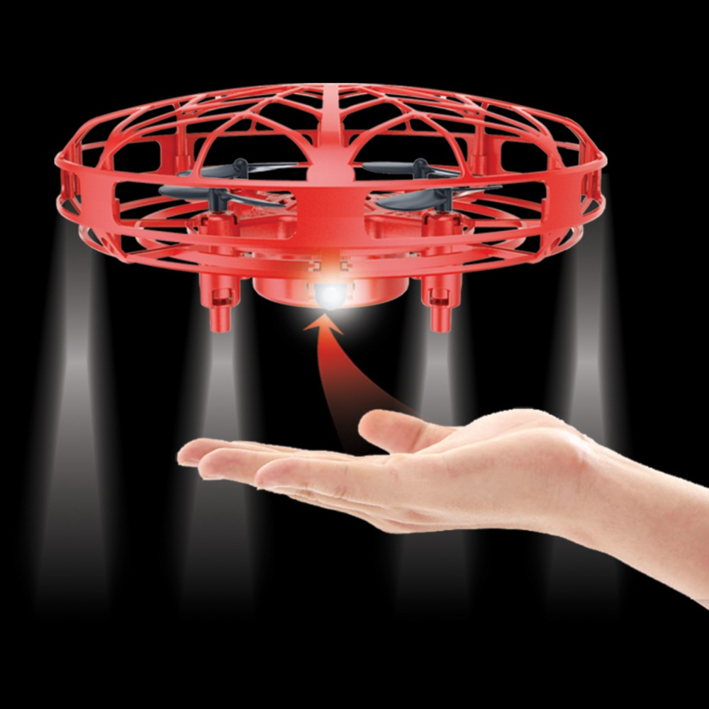 INDUCTION UFO DRONE RED