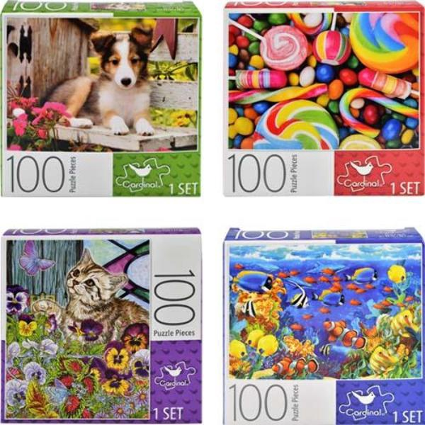 CANDY PUZZLES 100