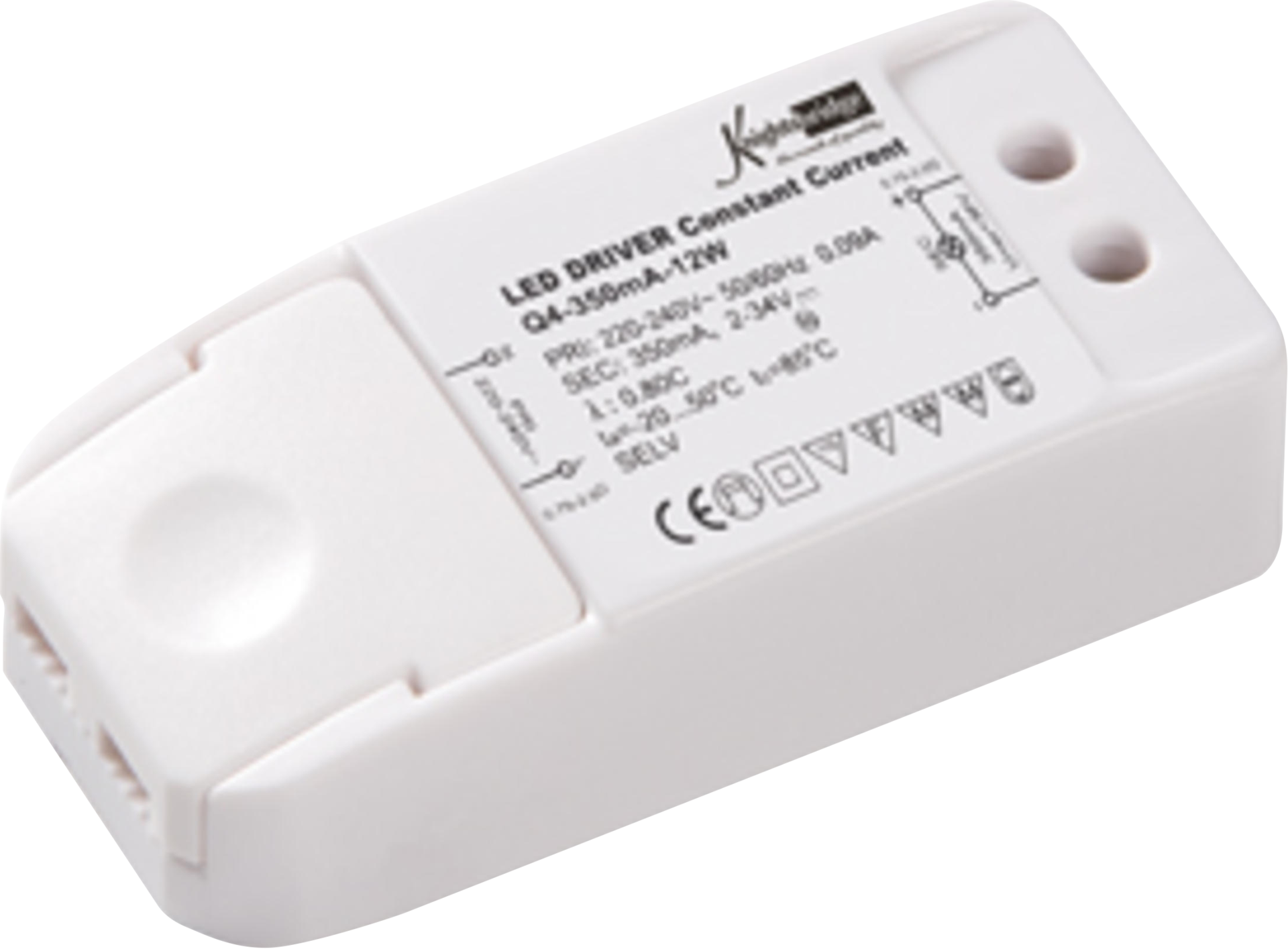 LED DRIVER 350 mA 12w CONSTANT CURRENT