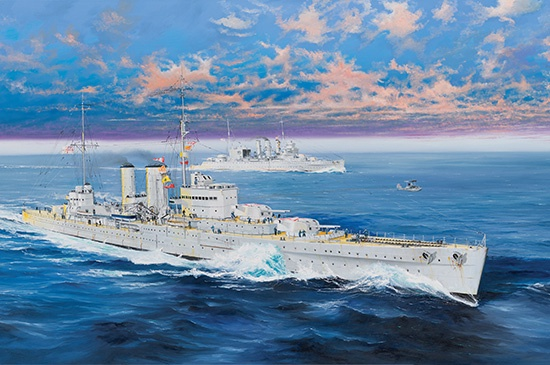 Trumpeter #05350 1/350 HMS Exeter