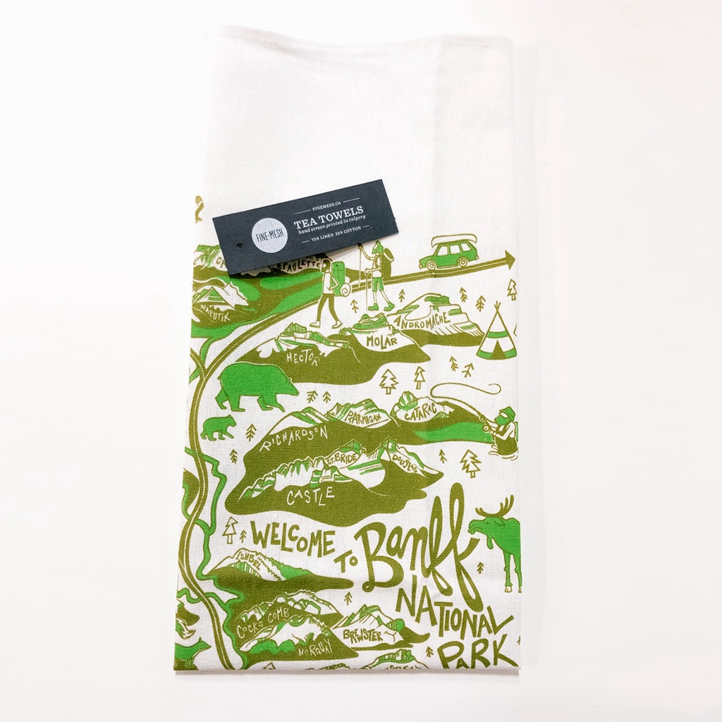 Banff National Park Tea Towel