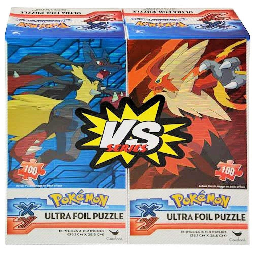 POKEMON VS SERIES ULTRA FOIL PUZZLE 100 PCS SET