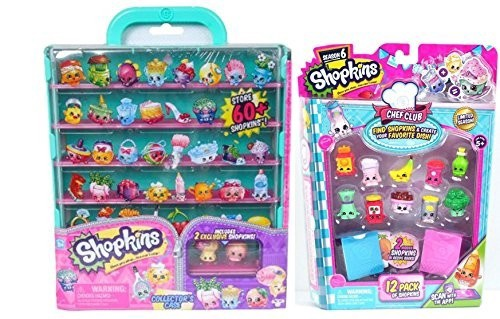SHOPKINS COLLECTOR'S CASE PLUS BONUS