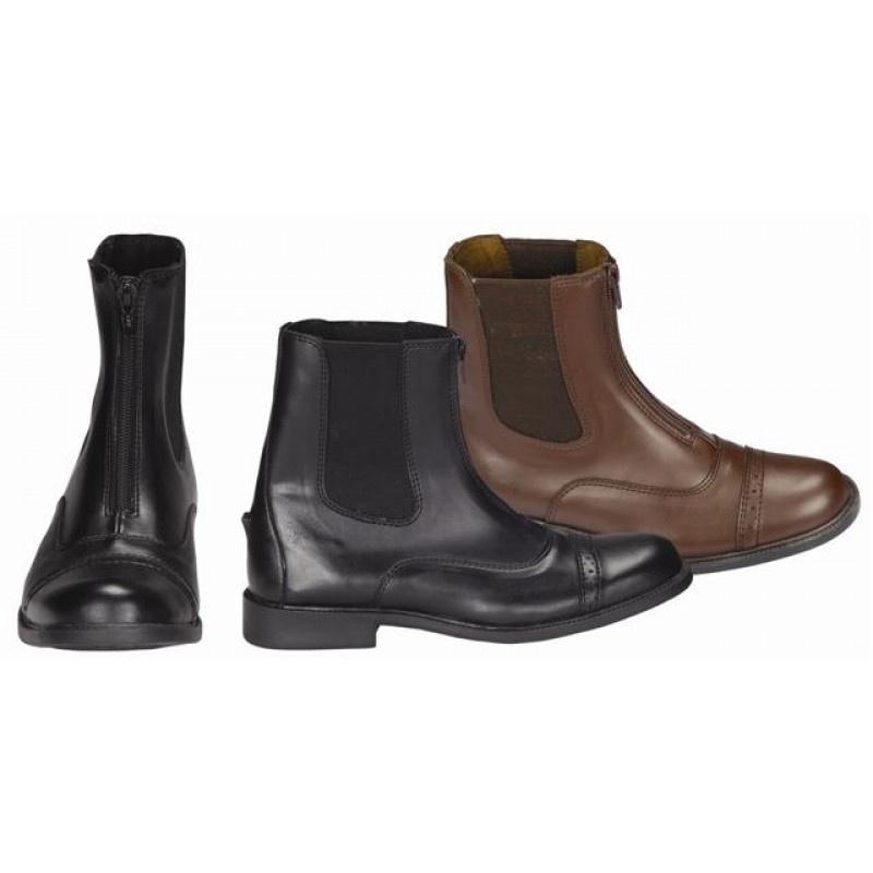 TuffRiders Ladies Starter Zip Paddock Boot