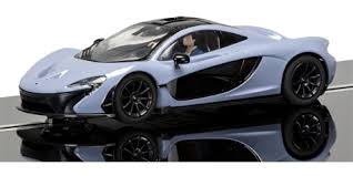 Scalextric #C3877 1/32 McLaren P1 Ceramic Gray