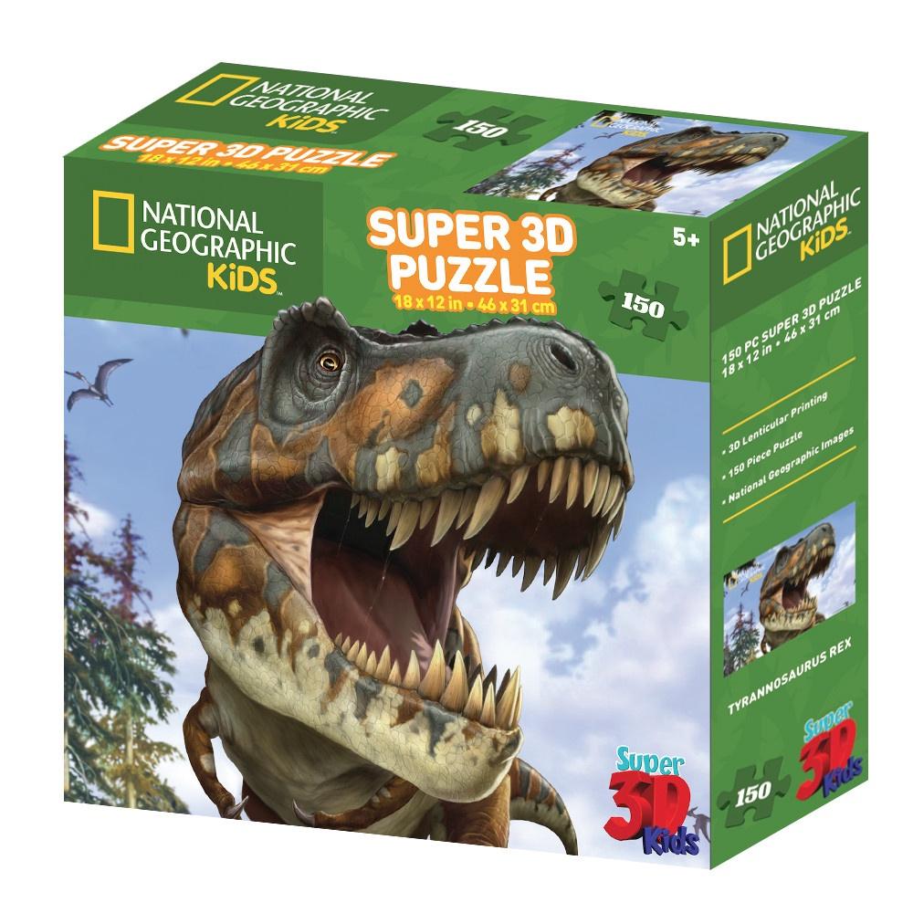 3D PUZZLE TYRANNOSAURUS REX 150 PCS