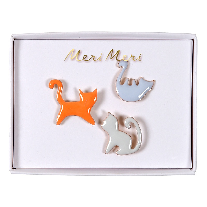 CAT ENAMEL PINS