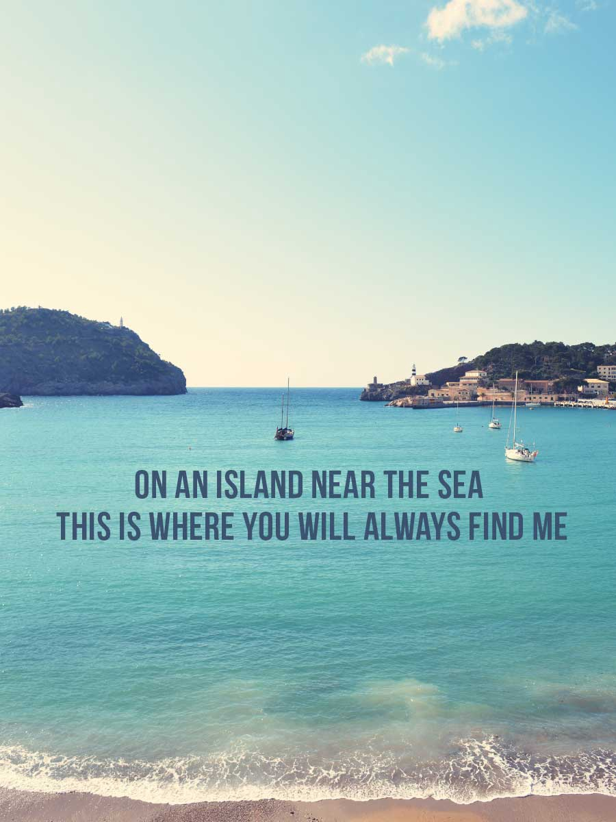 On An Island Saying