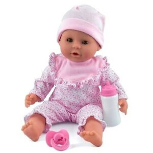 DOLL'S WORLD BABY LITTLE TREASURE PINK