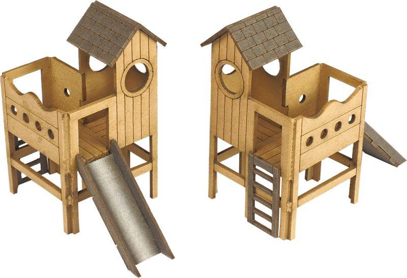 Metcalfe #PO513 OO/HO Children's Play Area Minikit