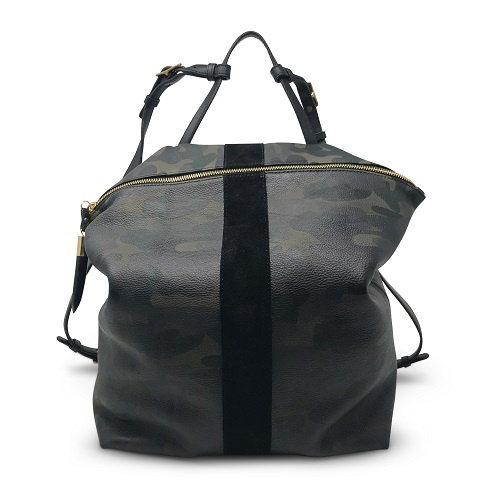 Morleigh Convertible Backpack Tote | Dark Camo