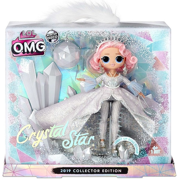L.O.L. SURPRISE O.M.G. CRYSTAL STAR 2019 COLLECTOR EDITION
