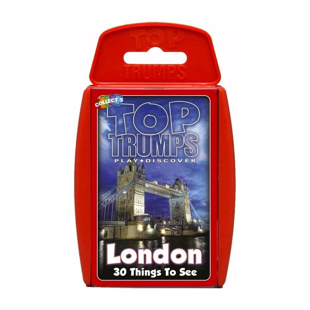 TOP TRUMPS LONDON
