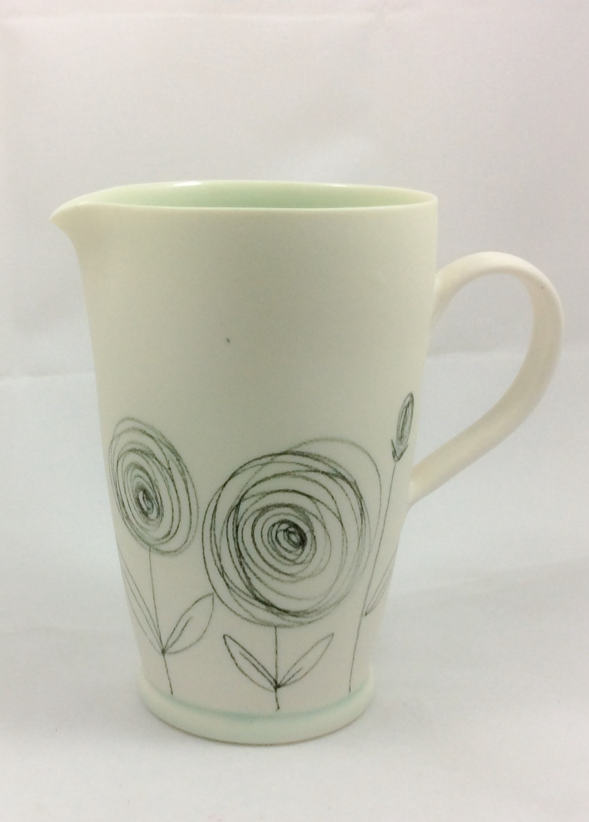 Buttercup Scribble Jug - Medium