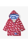 T-Rex Silhouettes Colour Changing Baby Raincoat