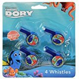 FINDING DORY 4PC WHISTLES