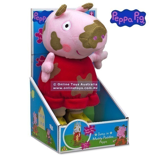 PEPPA JUMP IN MUDDY PUDDLES PLUSH