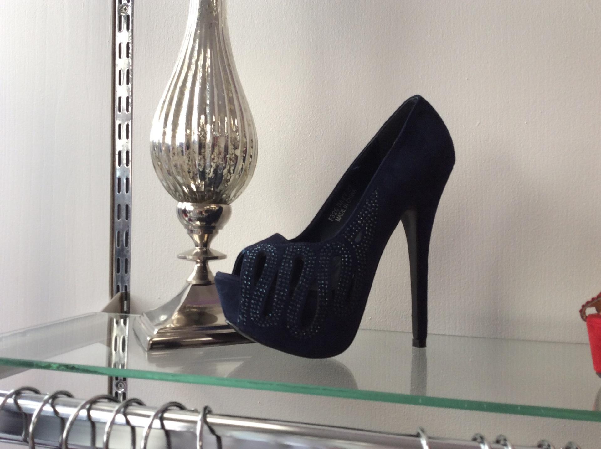 NAVY EMILIA shoes